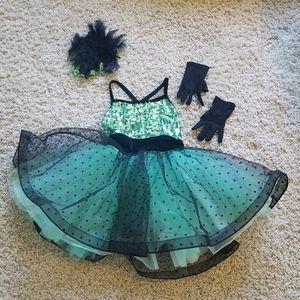 WEISSMAN dance costume 🖤